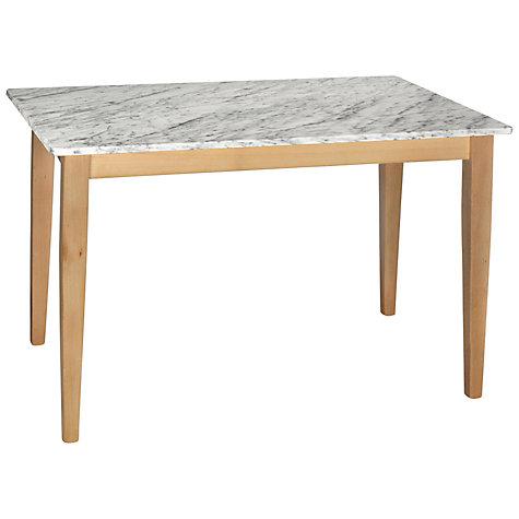 Buy HND Katrina 6 Seater Rectangular Dining Table Carrara John Lewis