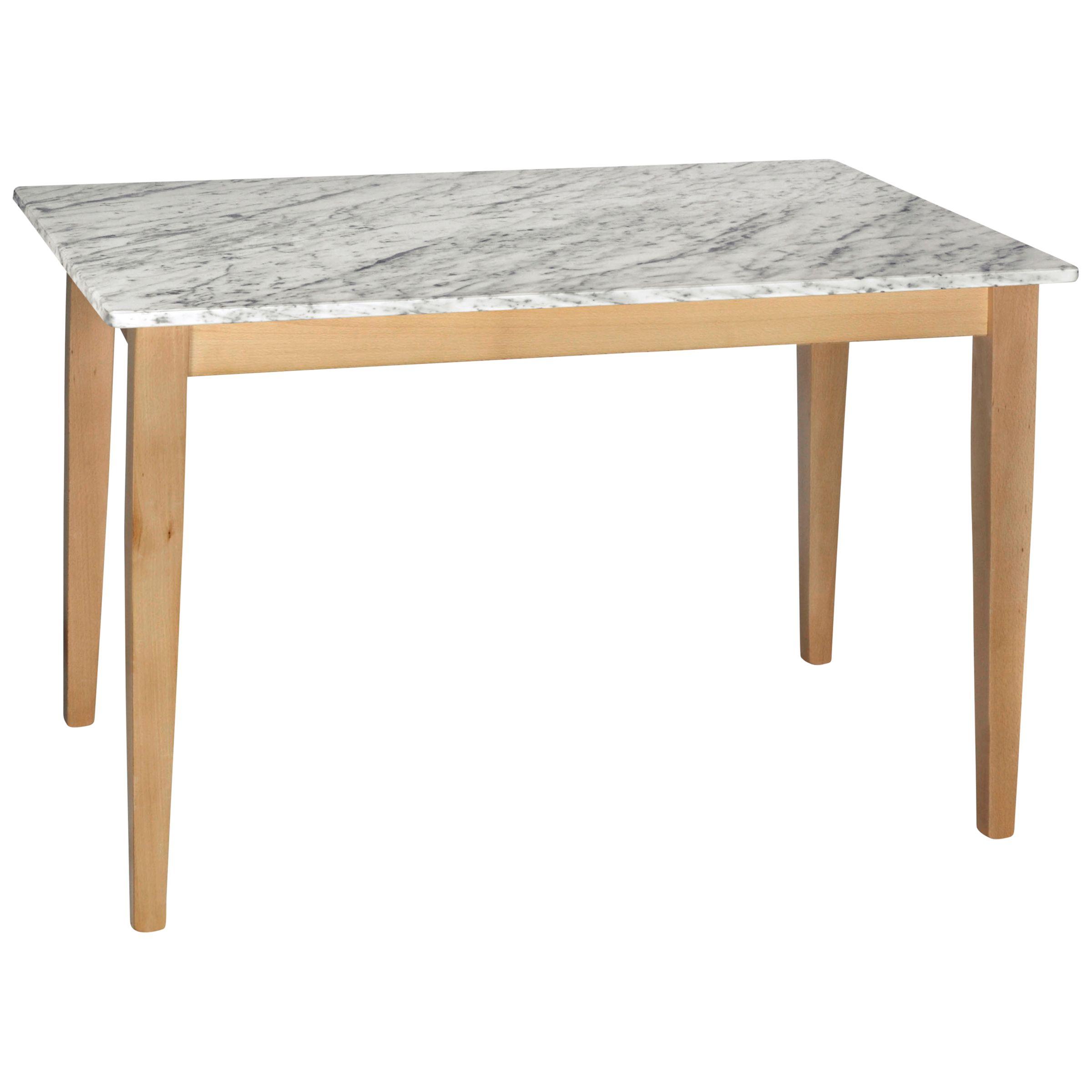 HND HND Katrina 4 Seater Rectangular Dining Table, Carrara
