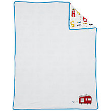 Buy John Lewis Men At Work Blanket Online at johnlewis.com