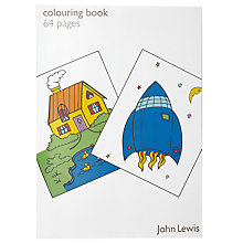Buy John Lewis Colouring Book Online at johnlewis.com