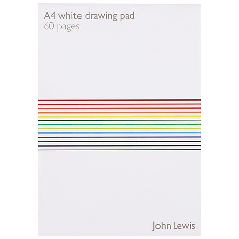 Buy John Lewis A4 Paper, Plain, 50 Sheets Online at johnlewis.com