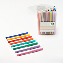 Buy John Lewis Colouring Pens in a Tub, Pack of 100 Online at johnlewis.com