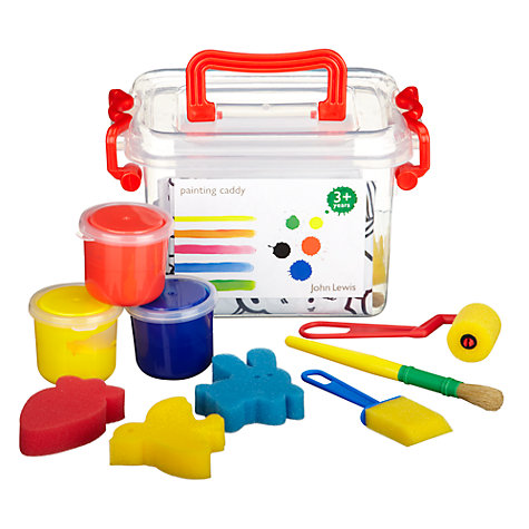 Buy John Lewis Painting Caddy Set Online at johnlewis.com