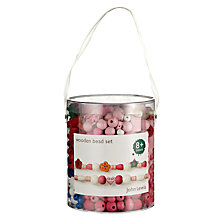 Buy John Lewis Wooden Bead Set Online at johnlewis.com