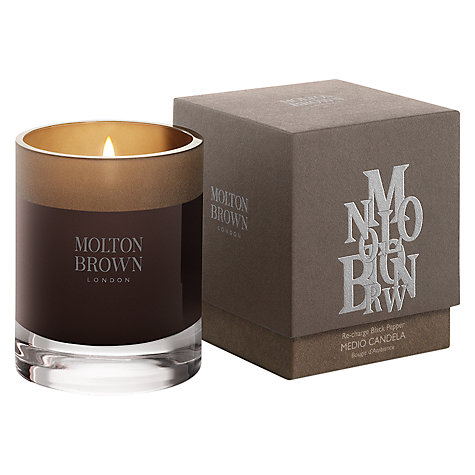 Buy Molton Brown Re-Charge Black Pepper Scented Candle, 180g Online at johnlewis.com