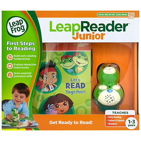Buy LeapFrog LeapReader Junior Scout, Green Online at johnlewis.com