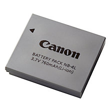 Buy Canon NB-4L Li-ion Battery for Ixus Models Online at johnlewis.com