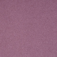 Buy John Lewis Smooth Velvet Carpet, Grape Online at johnlewis.com