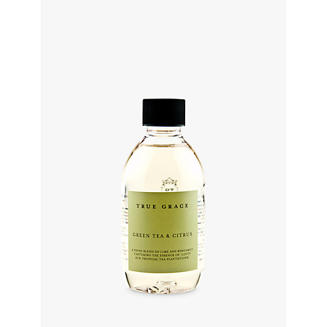 Buy True Grace Diffuser Refill, Green Tea Citrus, 250ml Online at johnlewis.com