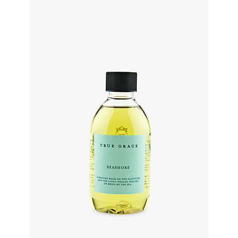 Buy True Grace Diffuser Refill, Seashore, 250ml Online at johnlewis.com