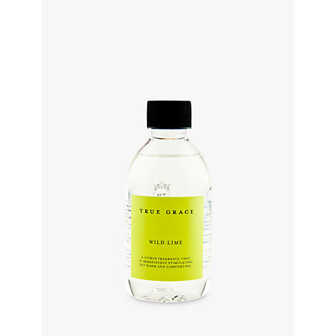 Buy True Grace Diffuser Refill, Wild Lime, 250ml Online at johnlewis.com