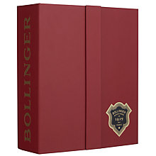 Buy Bollinger Special Cuvée Champagne Gift Box With Set of 2 Glasses Online at johnlewis.com