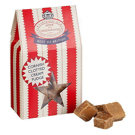 Buy Hope & Greenwood Cornish Clotted Cream Fudge, 150g Online at johnlewis.com