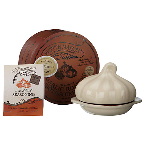 Buy Wildly Delicious Terracotta Garlic Roaster With Seasoning Online at johnlewis.com
