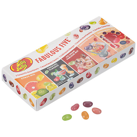 Buy Jelly Belly Fabulous Five Gift Box, 125g Online at johnlewis.com