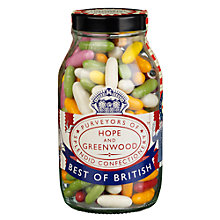 Buy Hope & Greenwood Liquorice Sweets in a Jar, 400g Online at johnlewis.com
