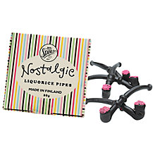 Buy Mr Stanley's Liquorice Pipes, 80g Online at johnlewis.com