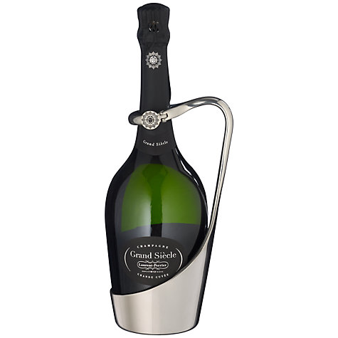Buy Laurent-Perrier Limited Edition Grand Siècle Champagne & Pourer Gift Set Online at johnlewis.com