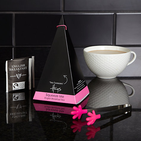Buy Hugs English Breakfast Tea Bags, Pink, Box of 10 Online at johnlewis.com