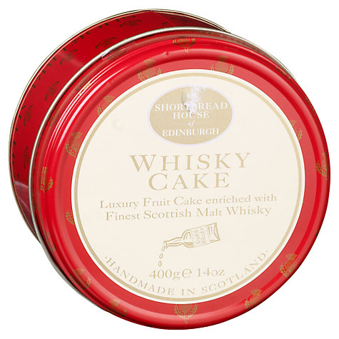 Buy Shortbread House Whisky Cake, 400g Online at johnlewis.com