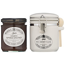 Buy Wilkins & Son Tiptree Assorted Chutney with Canister Online at johnlewis.com