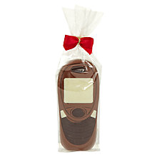 Buy Natalie Chocolates Milk Chocolate Mobile Phone, 40g Online at johnlewis.com