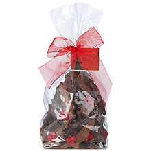 Buy Amabassadors Of London Milk & White Chocolate Holly Leaves, 200g Online at johnlewis.com