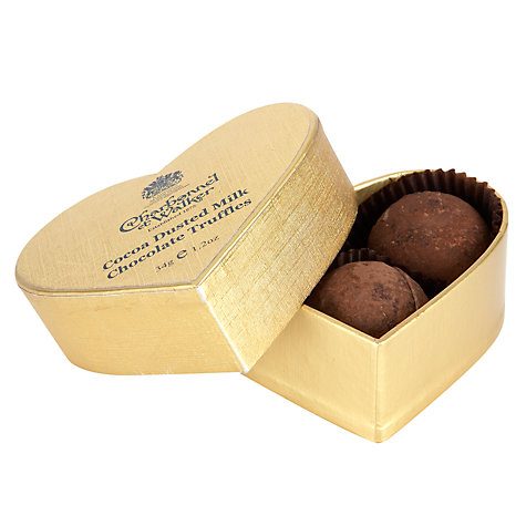 Buy Charbonnel et Walker Mini Gold Heart Chocolate Truffles, 34g Online at johnlewis.com