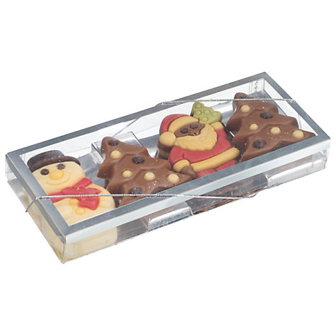 Buy Christmas Characters Chocolate Gift Box, 96g Online at johnlewis.com