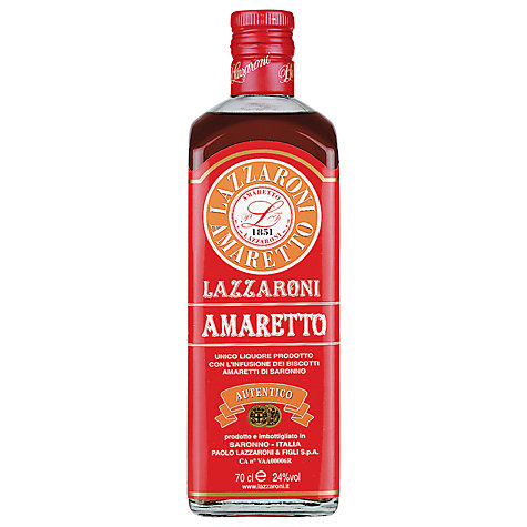 Buy Lazzaroni Amaretto In Tin, 70cl Online at johnlewis.com