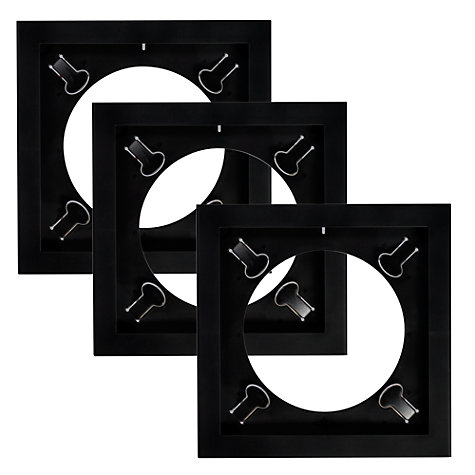 Buy Art Vinyl Play & Display Frames, Black, Set of 3 Online at johnlewis.com