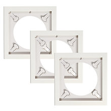 Buy Art Vinyl Play & Display Frames, White, Set of 3 Online at johnlewis.com
