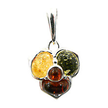 Buy Goldmajor Amber Mulitcoloured Flower Pendant Online at johnlewis.com