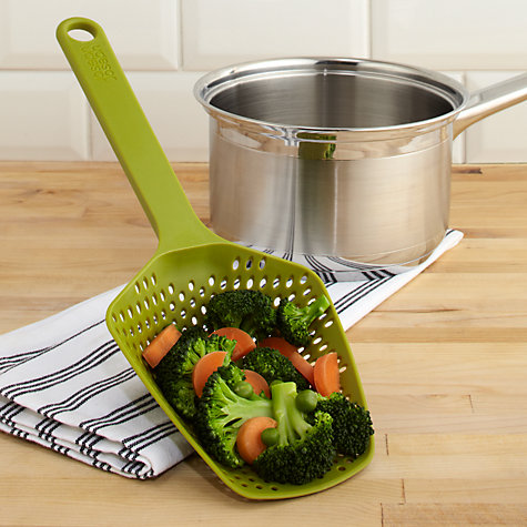Buy Joseph Joseph Scoop Colander/Spoon Online at johnlewis.com