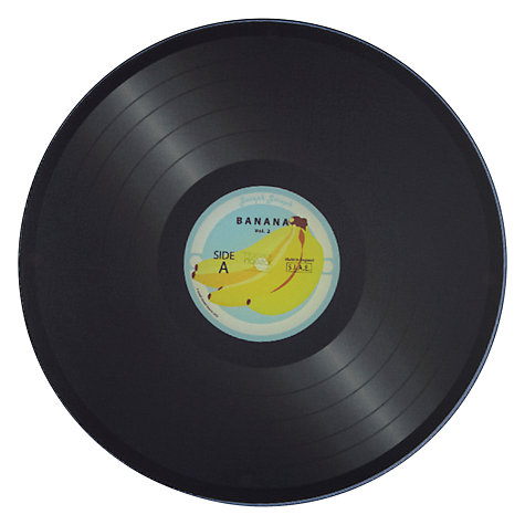 Buy Joseph Joseph Vinyl Record Worktop Saver, Banana Online at johnlewis.com