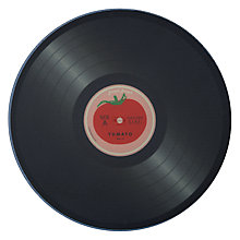 Buy Joseph Joseph Vinyl Record Worktop Saver, Tomato Online at johnlewis.com