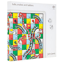 Buy John Lewis Snakes And Ladders / Ludo Online at johnlewis.com