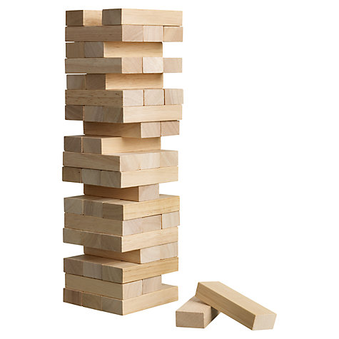 Buy John Lewis Topple Blocks Online at johnlewis.com