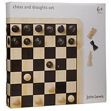 Buy John Lewis Chess and Draughts Set Online at johnlewis.com