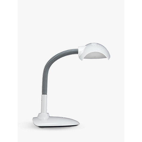 Buy Lumie Desklamp Dimmable SAD Daylight light, White Online at johnlewis.com