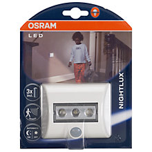 Buy Osram Nightlux Night Light Online at johnlewis.com