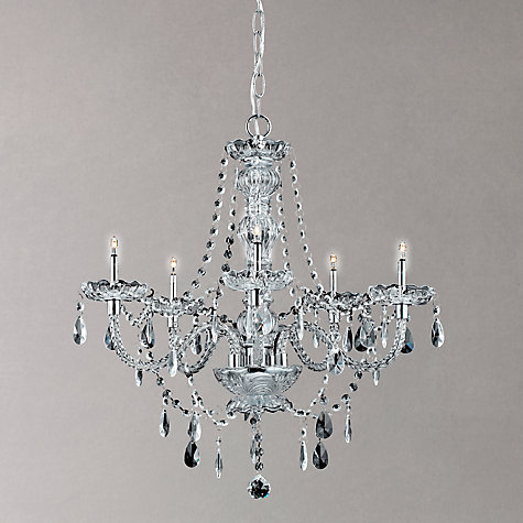 Buy Impex Zara Chandelier, 5 Light Online at johnlewis.com