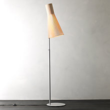 Buy Secto 4210 Floor Lamp, Birch Online at johnlewis.com