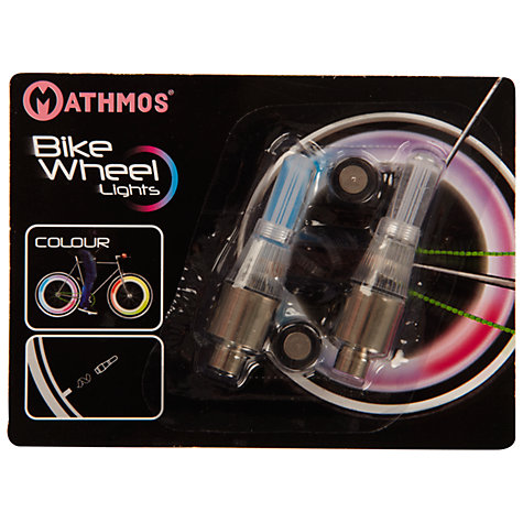Buy Colour-Changing Bike Wheel LED Lights Online at johnlewis.com