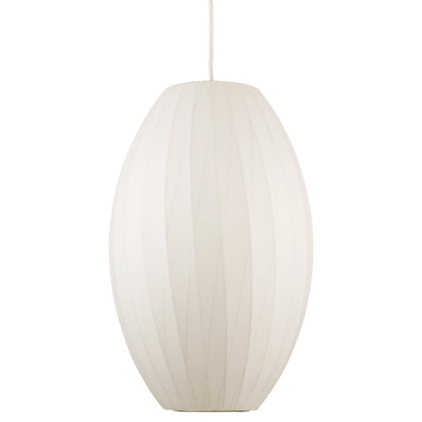 Buy George Nelson Bubble Crisscross Cigar Ceiling Light, Medium Online at johnlewis.com
