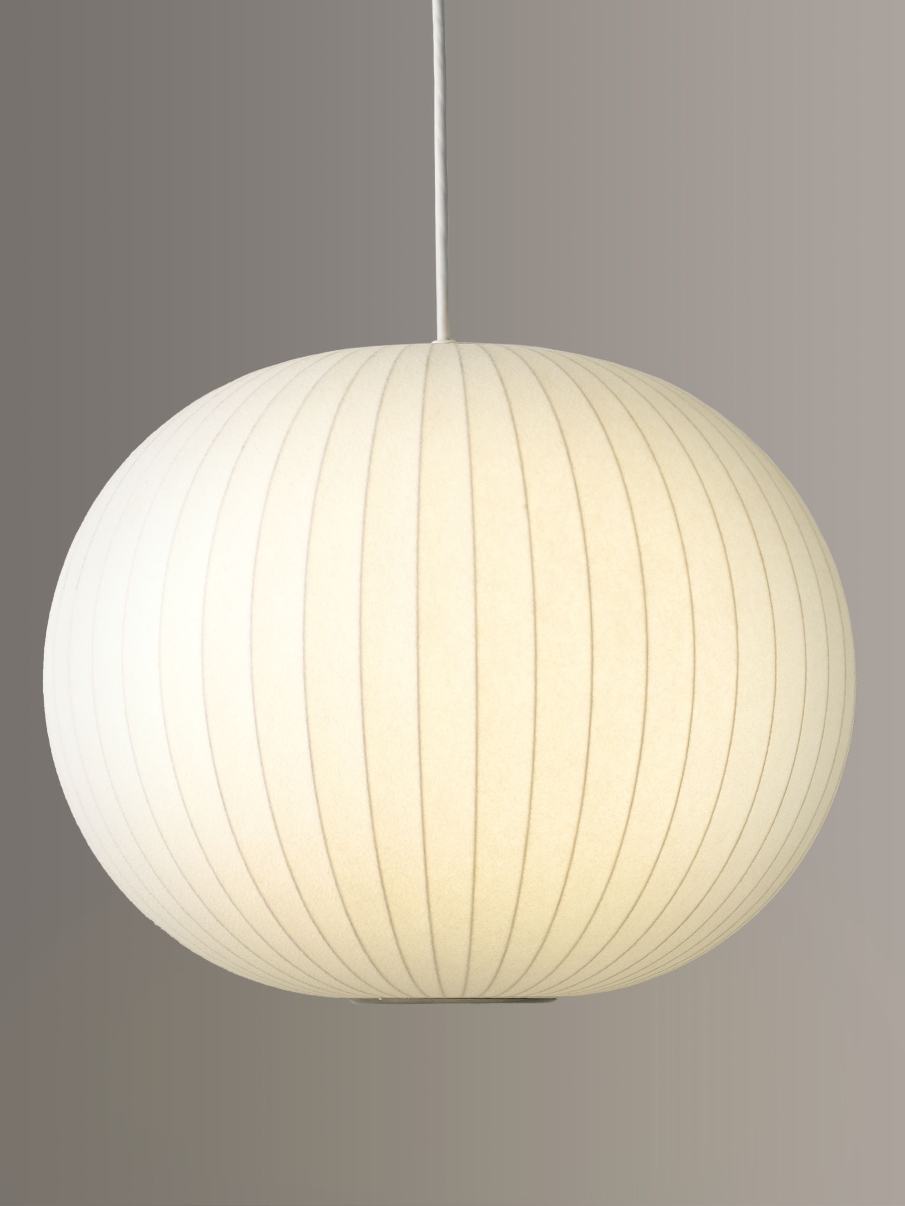 George Nelson George Nelson Bubble Ceiling Light, Medium