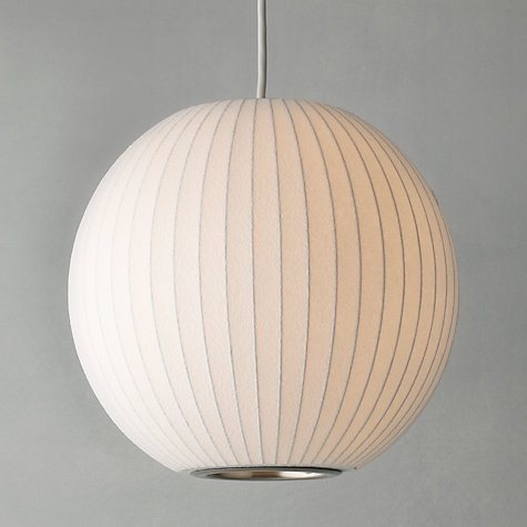 Buy George Nelson Bubble Ceiling Light, Small Online at johnlewis.com