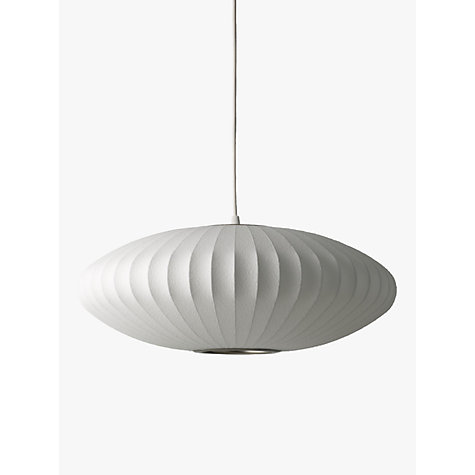 Buy George Nelson Bubble Saucer Ceiling Light, Small Online at johnlewis.com