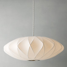 Buy George Nelson Bubble Crisscross Saucer Ceiling Light Online at johnlewis.com