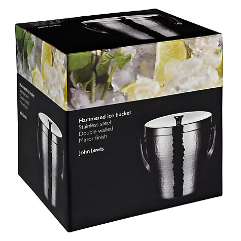 Buy John Lewis Hammered Ice Bucket Online at johnlewis.com